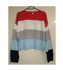 HM pulover vestica šišmir rukava 42 L
