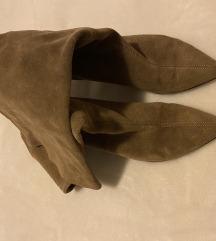 ZARA čizme brušena koža 40 REZZ