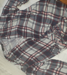 Zara bluza na vezanje, na preklop