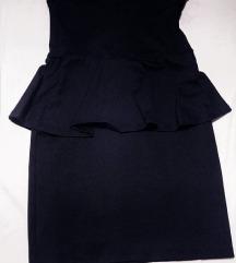 crna zara haljina