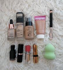 Make up LOT Calvin Klein, Sisley, Kanebo, Catrice