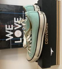 Converse mint zelene starke, broj 39