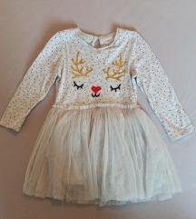 Božićna haljina i bodi