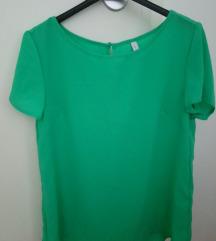 Zelena bluza s kratkim rukavima