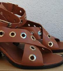 DANAS 200...❤️ RIVER ISLAND nove kožne sandale ❤️