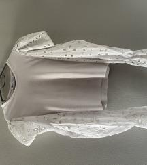 Majica sa puff rukavima Zara