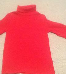next bozicna crvena majica  110