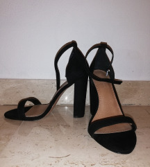 Crne ASOS sandale