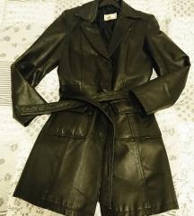 Prava koža strukirana jakna