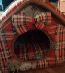 ležaj-kućica za mačku