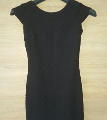Crna kratka haljina, s