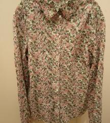 Šarena pamučna košulja cvjetnog uzorka