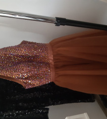 Sherri Hill sljokicasta haljina, vel 34