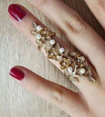 Efektan prsten-dva prstena za jedan prst