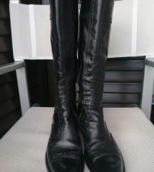 Nero Giardini crne kožne čizme 39