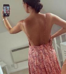 ZARA duga haljina golih leđa