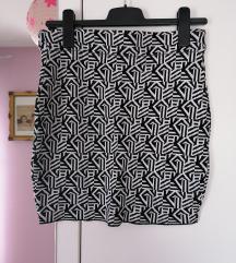 Crno-bijela mini suknja (NOVO!!!)