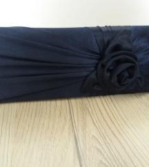 Svečana tamno plava pismo torba