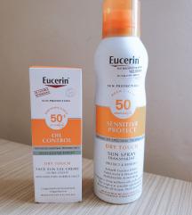 Eucerin oil control + spf u spreju