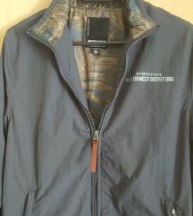 Siva tanka jakna / šuškavac
