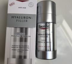 Eucerin hyaluron filler peeling&serum