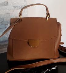 REZZ NOVA konjak torbica