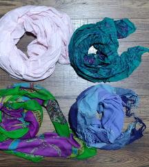 Modni dodaci, ukrasni šalovi,marame razne boje