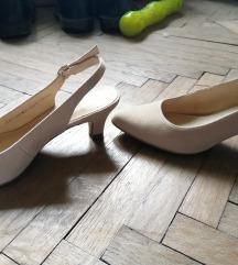 Deichmann krem sandale 36