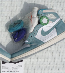 Air jordan 1 high turbogreen