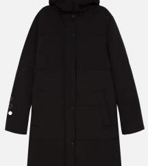 OYSHO crna duža topla jakna - Novo