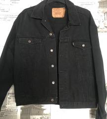 LEVIS 501 crna jakna (38-44) oversized