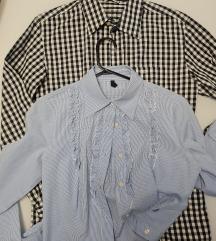 Košulja S 🤍 Tom Tailor i Beneton 🤍