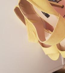 Sandale-cipele zute