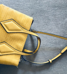 žuta zara torbica
