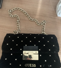 Guess velvet torbica