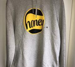 GANNI Sivi Honey hoodie/gornji dio trenirke