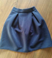 Suknja visoki struk