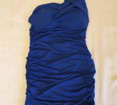 Plava svečana mini haljina