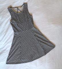 ✨ H&M crno-bijela haljina