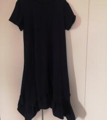 Tamno plava haljina