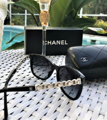 CHANEL Cat Eye Silver Chain sunčane naočale 😎