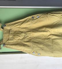 Traper žuta suknja na tregere