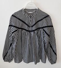 Crno/bijela bluza (poš. u cijeni)