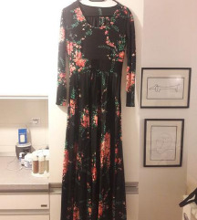 Duga plisirana haljina 36