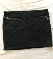 Zara kožna suknja (pt uključena)