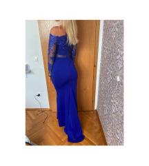 Svečana haljina royal blue