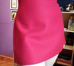 Zara crvena mini suknja