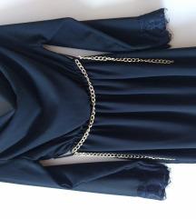 crna haljinica vel 36