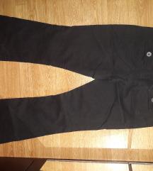 Crne hlače trapez