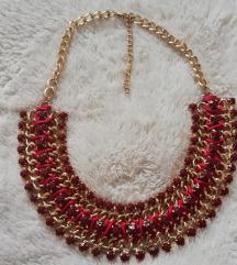 Tamnocrvena ogrlica